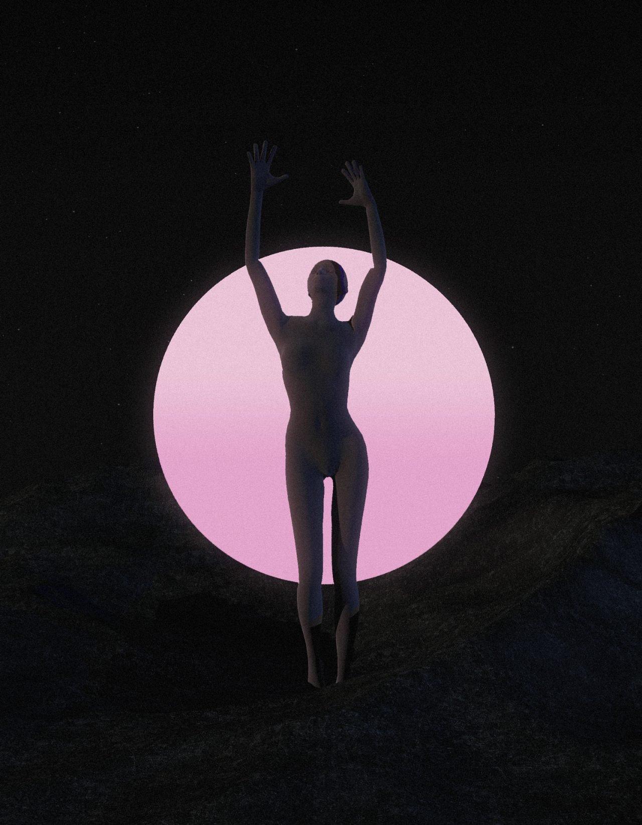 Hadrien Durand-Baïssas – Digital Art Rose Galaxy – 4