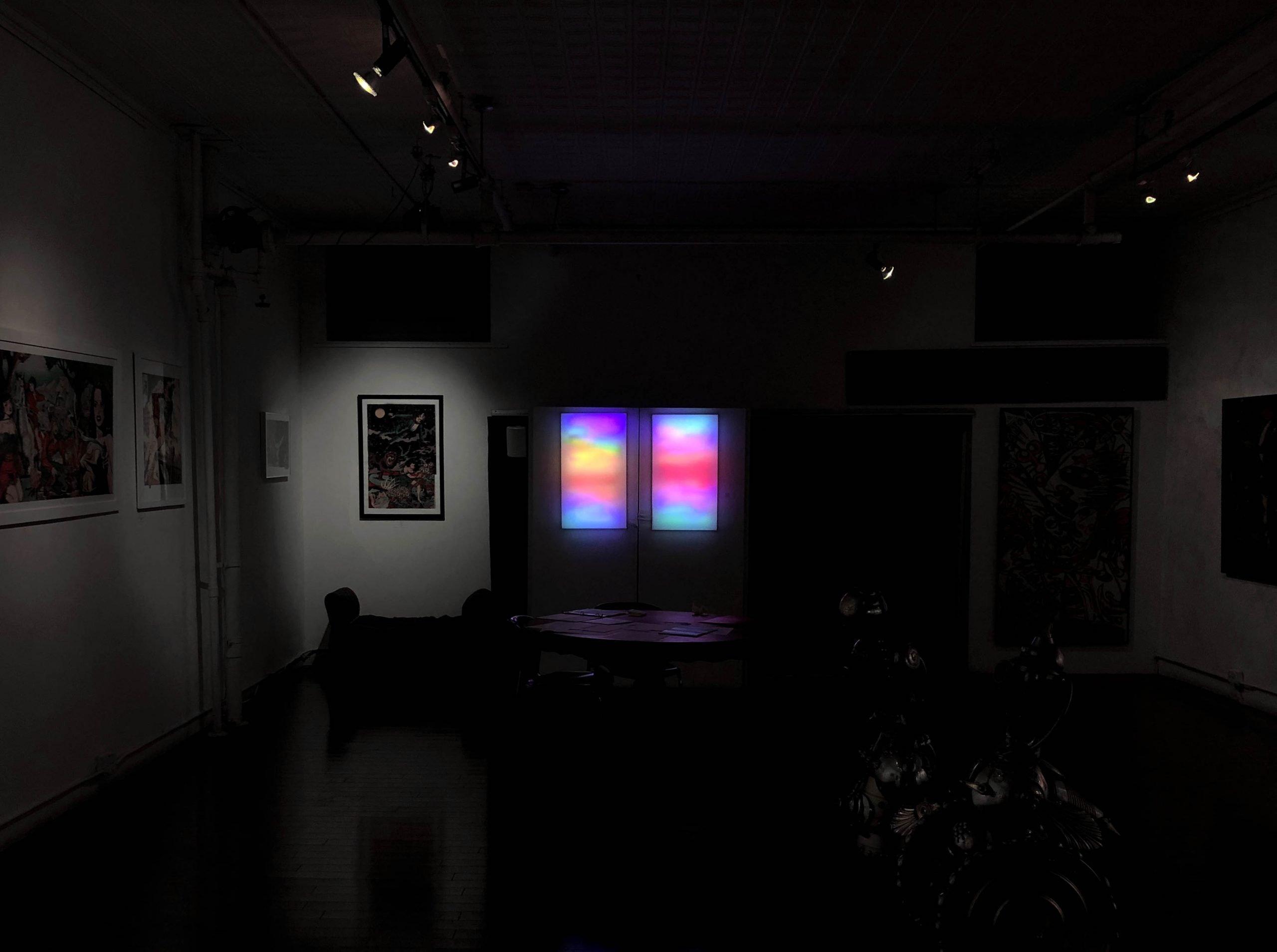 Hadrien Durand-Baïssas – Light Installation Solomon Gallery New York